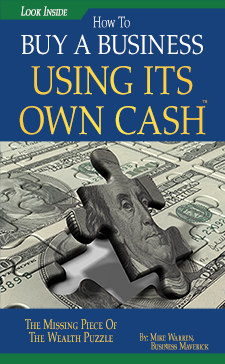 buying a business using its own cash